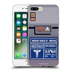 Official Star Trek Medical Kit Gadgets TNG Soft Gel Case for Apple iPhone 7 Plus *** Visit the image link more details. (Note:Amazon affiliate link)