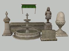 So I went poking around as I usually do for random things to put in my neighborhoods. I found some lovely Bioshock Infinite meshes on the facepunch forum and the rest is history. This set started out massive but I decided to trim it down because somethings just didn't work or really…