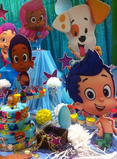 bubble guppies Bubble Guppies Birthday, Guppy, 3rd Birthday, Bubbles, Events, 3 Year Olds