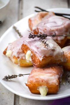 Lavender Vanilla Bean French Beignets   Food Recipes