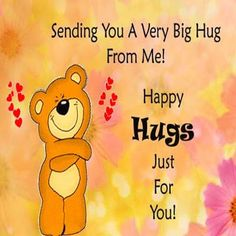 Sending you a hug quotes cute quote hug friendship quotes Hugs And Kisses Quotes, Hug Quotes, Good Morning Hug, Good Morning Quotes, Need A Hug, Love Hug, Cute Love Quotes, Beautiful Friend Quotes, Hug Friendship