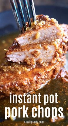 pork chop recipes These Instant Pot Pork Chops are so flavorful and easy to make. Less than 10 minutes of prep work and you can make the most delicious pork chops that everyone will love. This is the best instapot boneless pork chop recipe. Pork Chops Instant Pot Recipe, Best Pork Chop Recipe, Chops Recipe, Pork Recipe Honey, Crockpot Pork Chop Recipes, Pork Recipes, Cooker Recipes, Gourmet Recipes, Recipes For Pork Chops