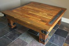 Reclaimed Coffee Table. $750.00, via Etsy.