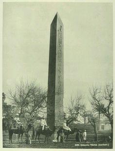 - The Al-Masalla Obelisk , Heliopolis , Cairo , 1870 ./tcc/