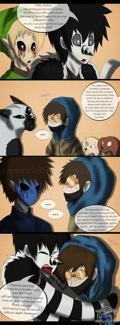 Adventures with Jeff the killer - PAGE 59 by sapphiresenthiss