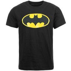 Tee Shirt Batman Logo Noir - LaBoutiqueOfficielle.com