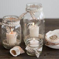 mason jar candles by regina