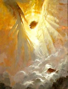 Paintings and drawings of our Lord Jesus Christ Angels Among Us, Angels And Demons, Angel Guide, I Believe In Angels, Prophetic Art, Angels In Heaven, Guardian Angels, Angel Art, Mellow Yellow