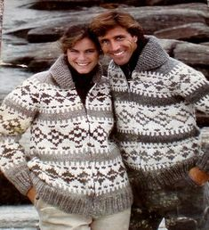 Knitting Pattern for a Zippered Outdoor Cardigan - GEOMETRIC - Men or Women.   We call them COWICHAN Sweaters where I live.    It is designed for