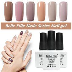UV gel nail polish nagellack laca CND nail art Chocolate Color Nude esmalte de uñas maquillaje vernis bridemaid semi permanente