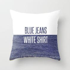Blue Jeans White Shirt - Lana Del Rey