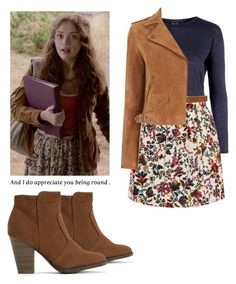 """""""Emma Decody - Bates Motel"""" by shadyannon ❤ liked on Polyvore featuring Topshop, rag & bone and Oasis"""