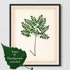 Digital print Botanical wall art Print by RestoredBotanicalArt