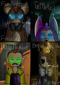 4 Horror Games (Finished) by IrishHeartARoxas15.deviantart.com on @DeviantArt