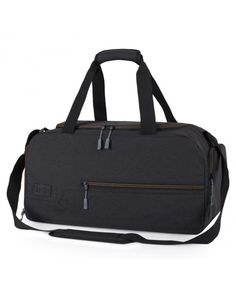 Water Resistant Polyester Sports Gym Travel Weekender Duffel Bag - Black -  C318626Q4SM  Bags   61f9b99c68fdc