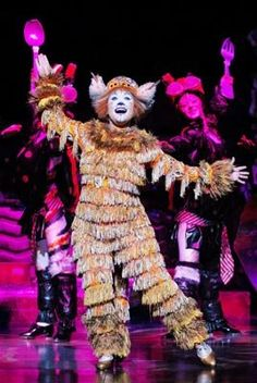 Jennyanydots, the Gumbie Cat. My role in the school musical this year!!