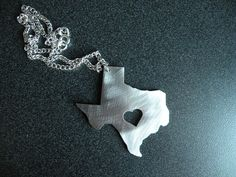 Deep in the Heart of Texas  Necklace by ArtisanGerard on Etsy, $20.00