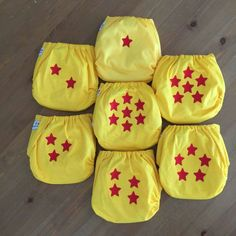 My Dragon Ball Z Cloth Diapers! Harmony Watson from Pitchin Stitchin!