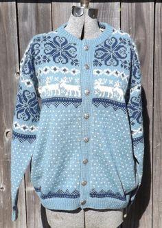 Label : Handknitted in Norway, Husfliden Norwegian Knitting, Knitting Sweaters, Vintage Sweaters, Bergen, Sweater Cardigan, Free Pattern, Stitch, Crochet, Sleeves