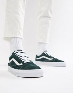 1f6371eb2e Image 1 of Vans Old Skool sneakers in green VN0A38G1U5J1 Vans Old Skool  Trainers