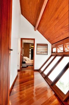 Reversed windows and wall in this corridor. See some really cool interior architecture by ArchDesign STUDIO in the article! #architecture #homify