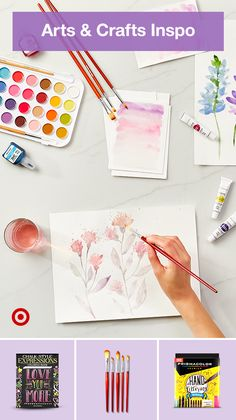 Take an adult creativity break! Find art supply ideas for drawing painting & crafting inspiration. Take an adult creativity break! Find art supply ideas for drawing painting & crafting inspiration. Watercolor Painting Techniques, Painting & Drawing, Watercolor Paintings, Drawing Drawing, Watercolor Cards, Watercolor Rose, Learn To Paint, Art Techniques, Art Tutorials