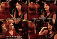"""When Robin and Lily made an excellent analogy. 