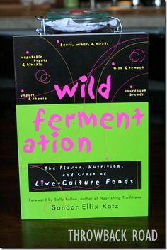 Wild Fermentation by: Sandor Katz