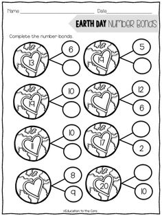 Earth Day Math Codes FREE  Earth Day  Pinterest  On Facts and