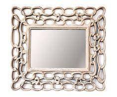 177€ Espejo de DM Cadena - gris