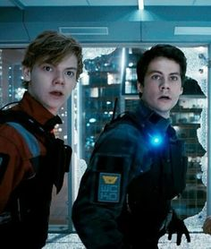 newt and thomas - the death cure