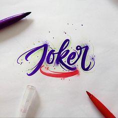 Brushpen Lettering Set Superheroes Edition on Behance