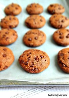 chocolate cookies flaxseed oat flour cacao powder cinnamon sunflower ...