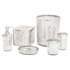 Paradigm Trends 6 Piece Ice Bathroom Accessories Set | From Hayneedle.com