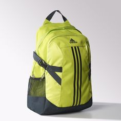 The adidas power 2 backpack is made for everything from the classroom to training sessions at the gym. The heavy-duty backpack has smart perks like a padded laptop compartment, side mesh pockets and compression straps to keep your load secure. Mochila Adidas, Adidas School Backpack, Blessing Bags, Gym Essentials, North Face Backpack, School Backpacks, School Bags, Backpack Bags, New Outfits