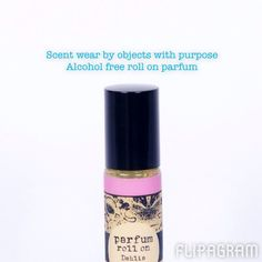 Alcohol free roll on perfume. Scent wear by objects with purpose! Rose & lychee just one of seven luxurious scents. www.objectswithpurpose.com