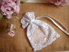 Baby Christening Bags, Wedding Favor Bags ,Wedding Lace Favor Bags,Wedding Lace Bags