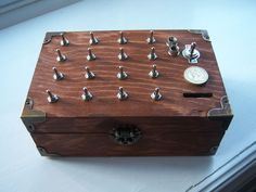 Instructables: Picture of The Enigma Puzzle Box  Enigma project?