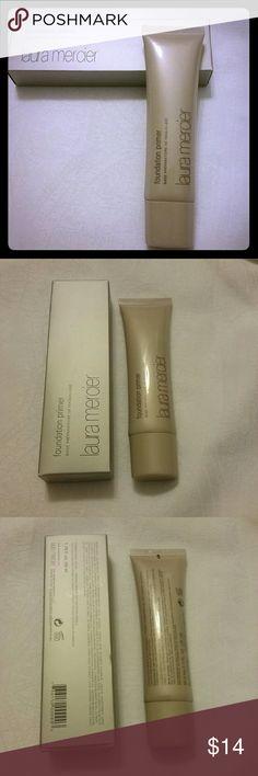 LAURA MERCIER FOUNDATION PRIMER Laura Mercier foundation primer. 1.7 oz, new. laura mercier Makeup Face Primer