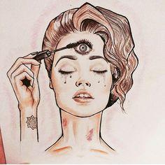 third eye mascara - Google Search