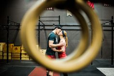 CrossFit Engagement Session Idea | Wisconsin Engagement Photographer | Ali Leigh Photo