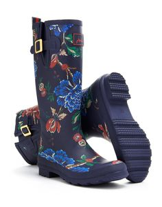 WELLYPRINT Floral Rain Boot Wellies $69
