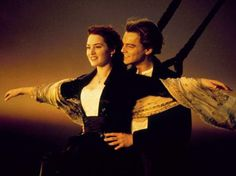 """I'm flying"" scene in Titanic."