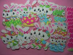 ハンドメイド可愛い レトロ動物&お花布シール35枚e Handmade wrapping ¥110円 〆03月25日