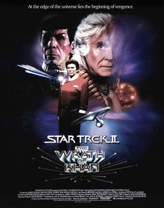 STAR TREK 2 THE WRATH OF KHAN POSTER by tanman1.deviantart.com