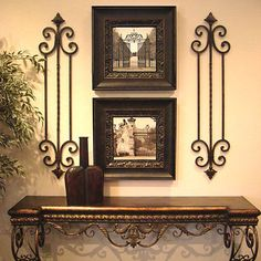 If you are having difficulty making a decision about a home decorating theme, tuscan style is a great home decorating idea. Many homeowners are attracted to the tuscan style because it combines sub… Tuscany Decor, Wrought Iron Decor, World Decor, Mediterranean Home Decor, Mediterranean Architecture, Tuscan House, Iron Furniture, Tuscan Decorating, Interior Decorating