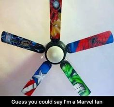 19 Beyond Clever Superhero Room Ideas You'll Want To Steal Swap out ceiling fan blades with these superhero-themed ones. 19 Beyond Clever Superhero Room Ideas You'll Want To Steal, Avengers Room, Marvel Avengers, Avengers Nursery, Marvel Nursery, Marvel Memes, Marvel Bedroom, Boys Superhero Bedroom, Superhero Room Decor, Batman Bedroom