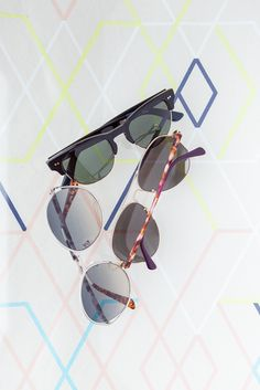 Sunglasses in many shapes, styles and sizes. So many TOMS Eyewear options!