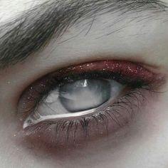 Image about makeup in aesthetic// high fantasy by LevynORowane Character Aesthetic, Character Design, Aesthetic Eyes, White Eyes, Dark Grey Eyes, Eye Art, Dark Fantasy, Beautiful Eyes, Character Inspiration