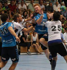 Der HC Erlangen gewinnt im DHB-Pokal gegen TVS Bayer Dormagen mit 33:26 (hier: #3 - Nicolai Theilinger) #hcerlangen #erlangen #hlstudios #Handball-Bundesliga #dkbhbl #hce #wirsindwiederda #DHBPokal  www.hc-erlangen.de #erlangen_bilder